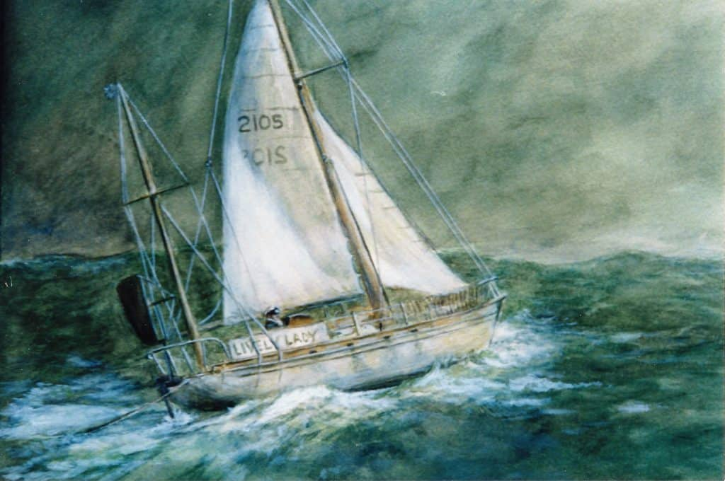 Big picture of sailing boat