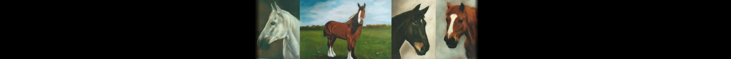 Dogs, Cats, Horses. Paintings And Portraits