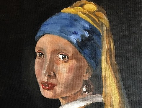 Portraits and Paintings in Oil and Pastel